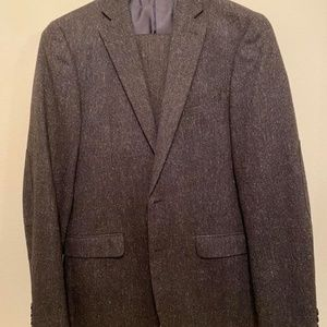 Donegal CalvinKlein charcoal extreme slim 40l suit